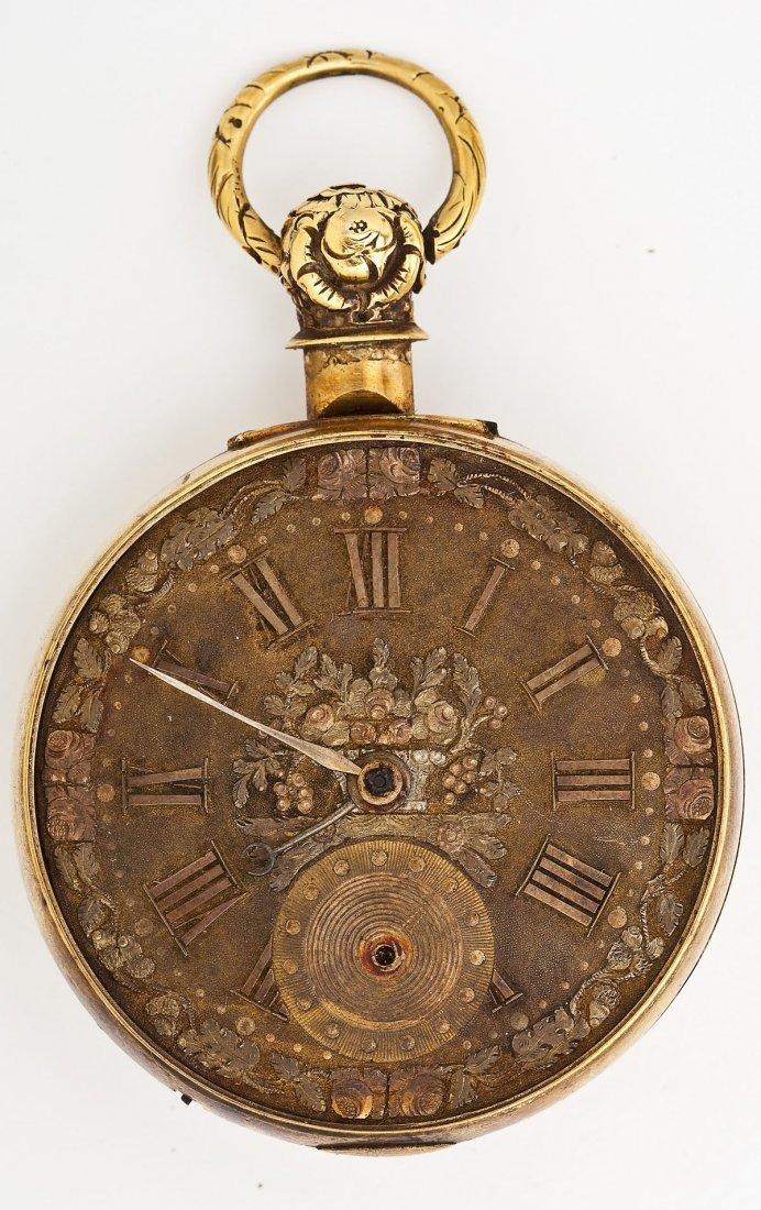 Joseph Johnson Liverpool 18K Fusee Pocket Watch - 5