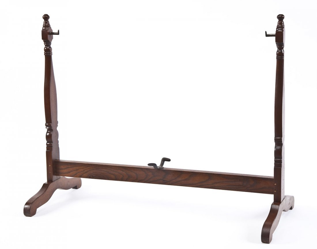 Antique Swinging Baby Cradle - 5