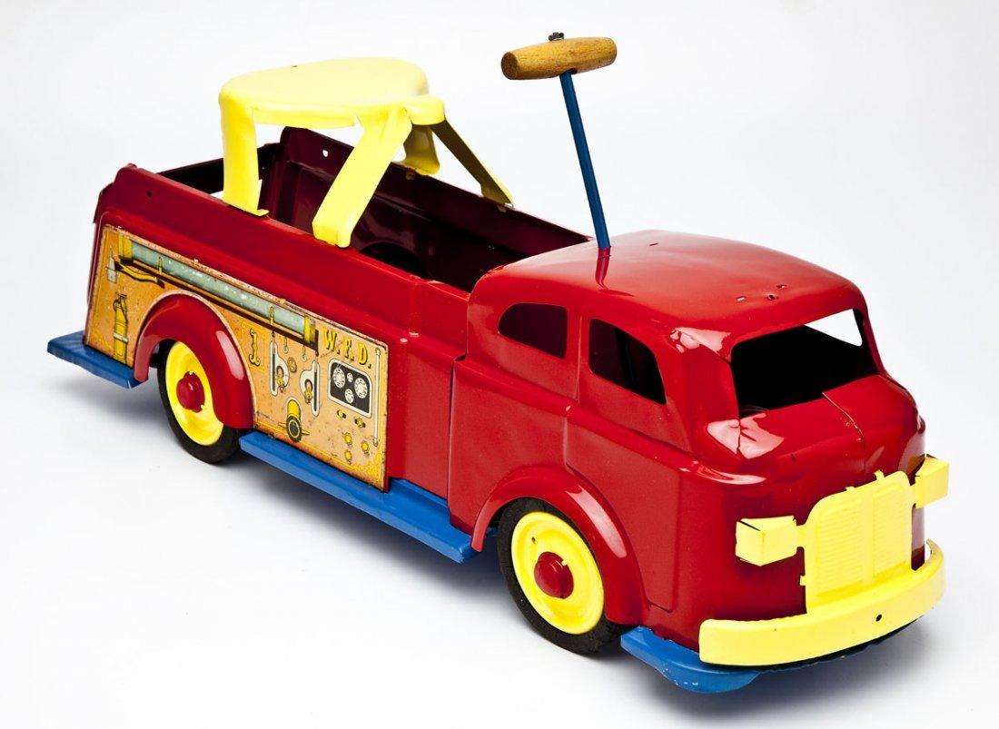 Wyandotte Fire Engine Riding Toy