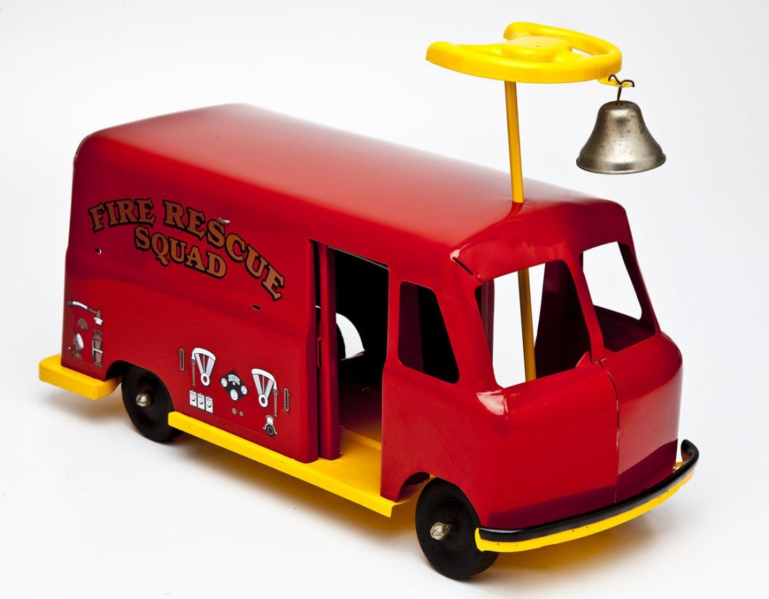 Fire Rescue Squad Riding Toy