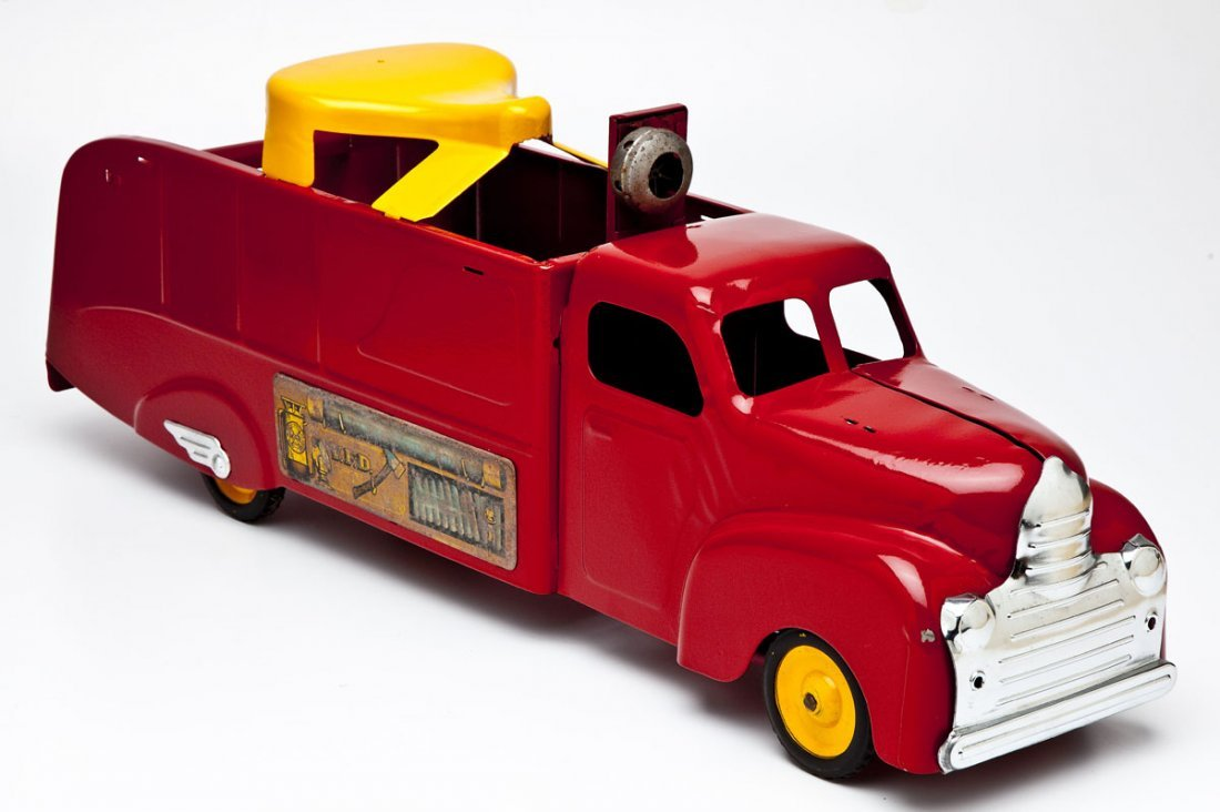 Marx Fire Engine Riding Toy