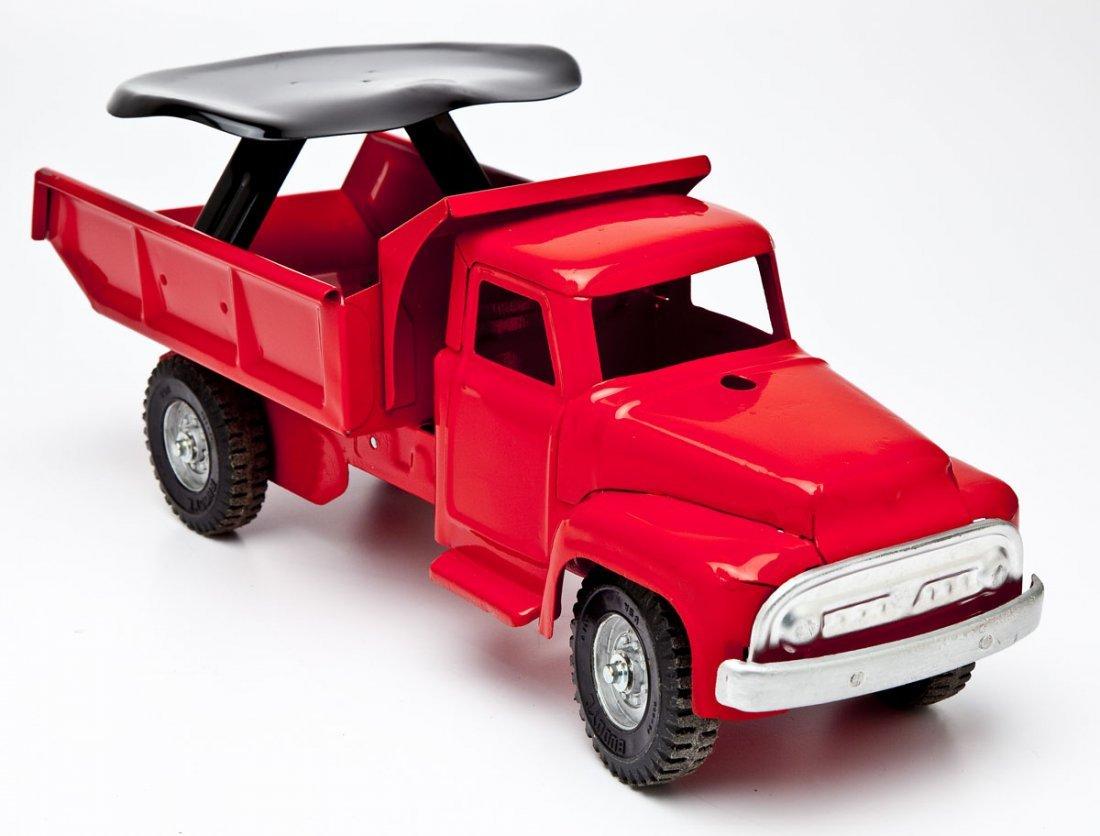 Buddy L Dump Truck Riding Toy