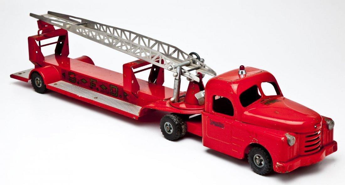 Structo Ladder Truck