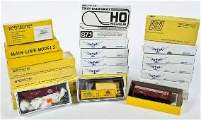 24 Car Kits incl Walthers  Tichy Train Group