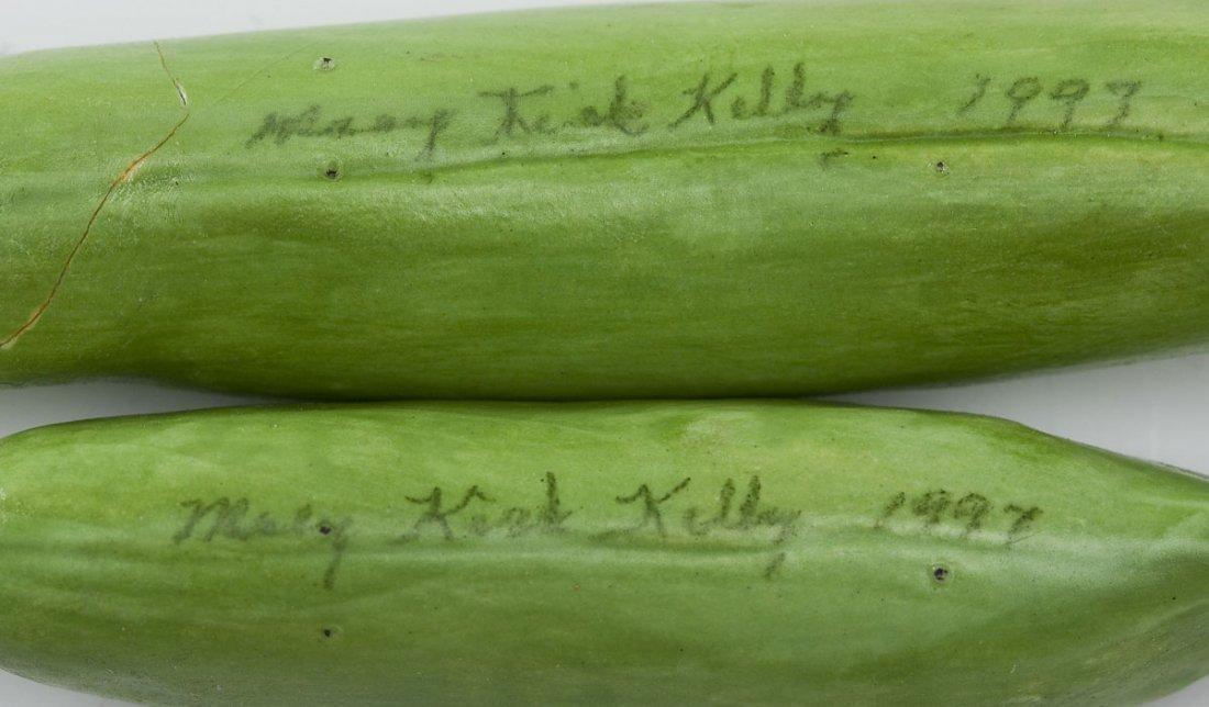 6 Pcs Mary Kirk Kelly Ceramic Fruits & Vegetables - 4