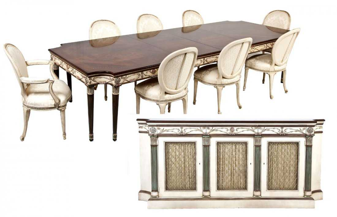 EJ Victor Louis XVI Style Dining Room Set