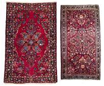 2 Persian Scatter Rugs
