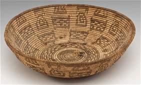 Vintage Papago Indian Basket
