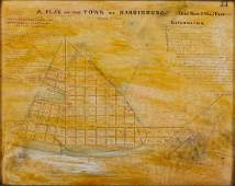 Copy Plan of the Town of Harrisburg Deed Book Y