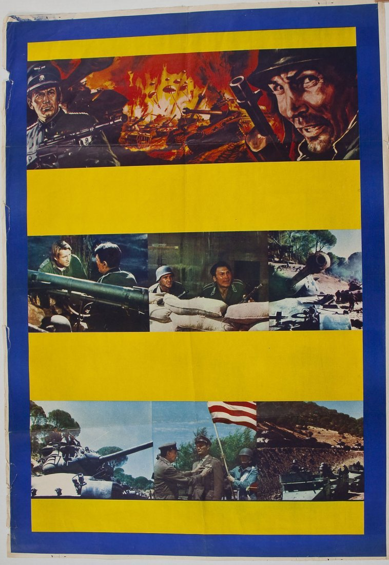 Attack Movie Poster from Jack Palance Collection