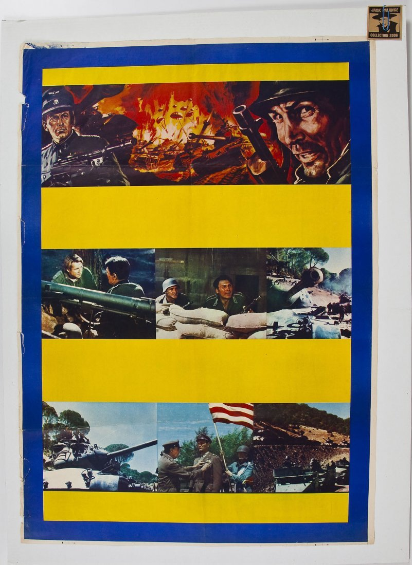 Attack Movie Poster from Jack Palance Collection - 2