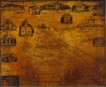 Copy Plan of the Borough of Harrisburg