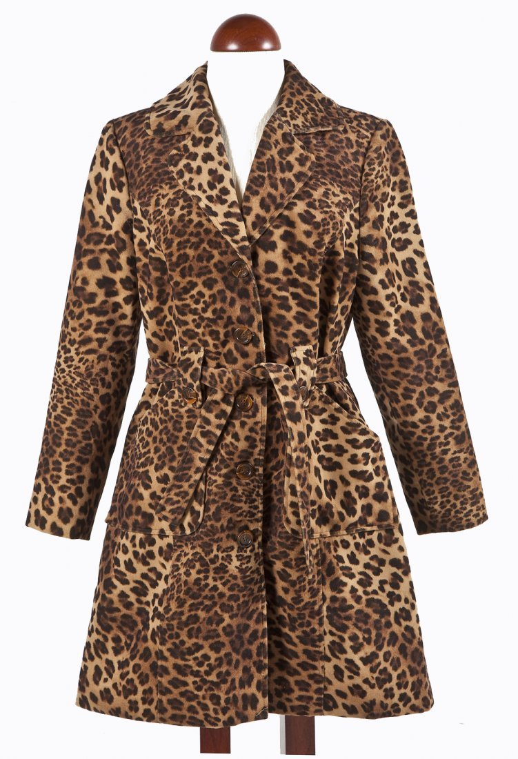 Leopard Print Trench Coat by Bentley A.