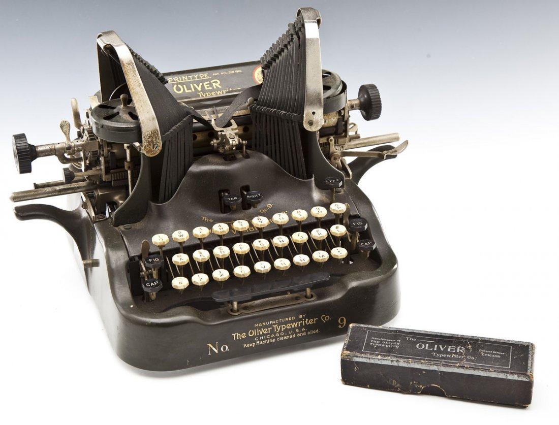 The Printype Oliver Typewriter Co. No. 9 - 2