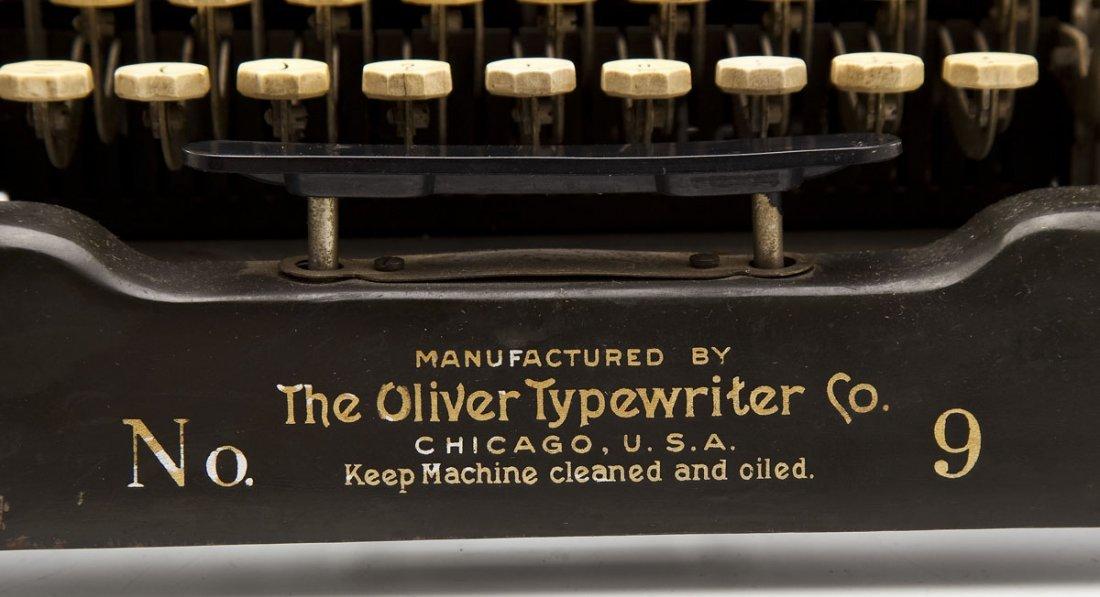 The Printype Oliver Typewriter Co. No. 9 - 3