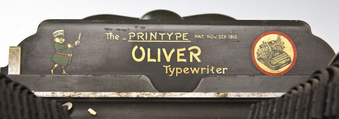 The Printype Oliver Typewriter Co. No. 9 - 7