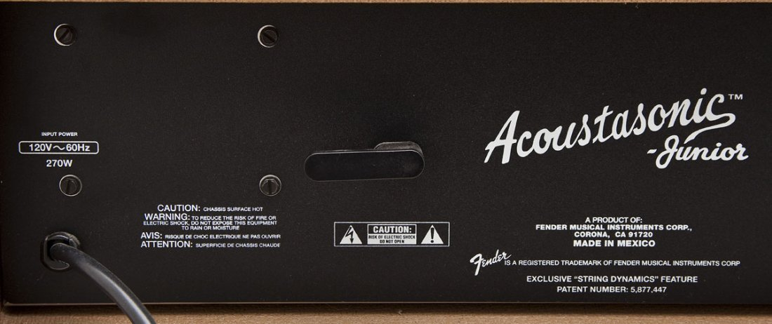 Fender Acoustasonic Junior 270W Amplifier - 8