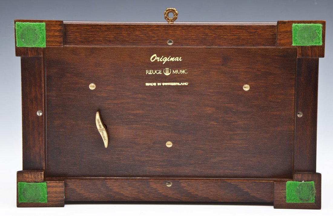 Reuge Sainte-Croix Switzerland Music Box - 10