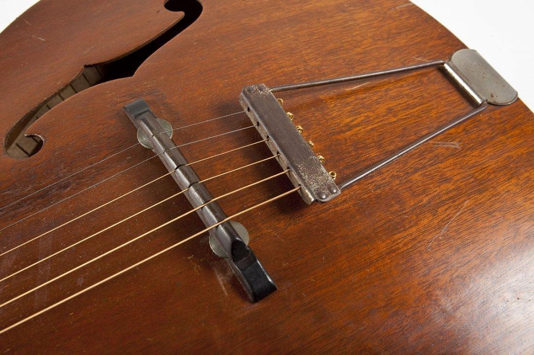 1936 Custom Kraft Archtop Acoustic Guitar - 4