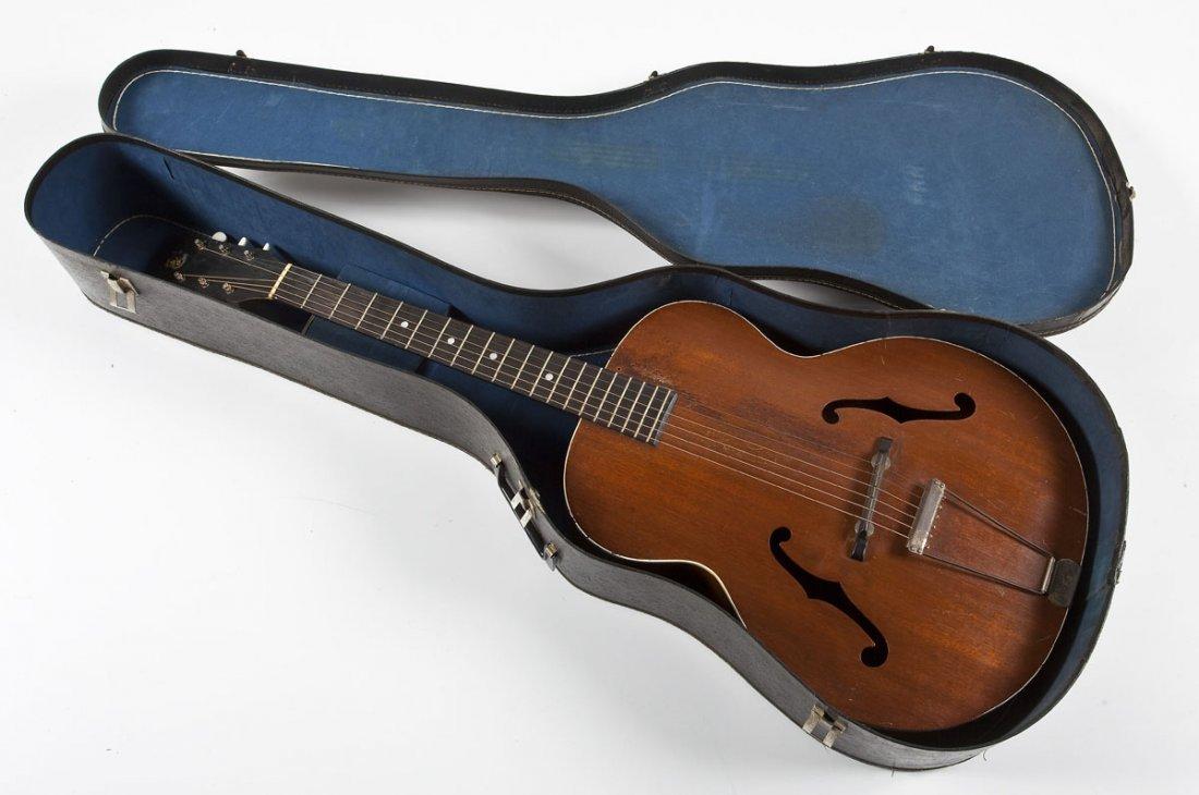 1936 Custom Kraft Archtop Acoustic Guitar - 8