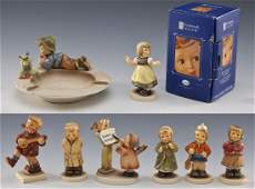 8 Hummel Figures