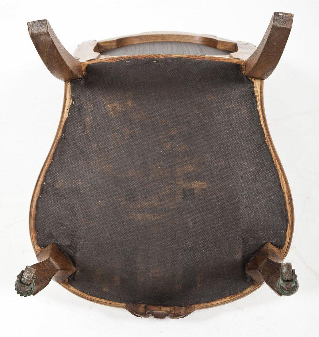 Victorian Revival Boudoir Chair - 2