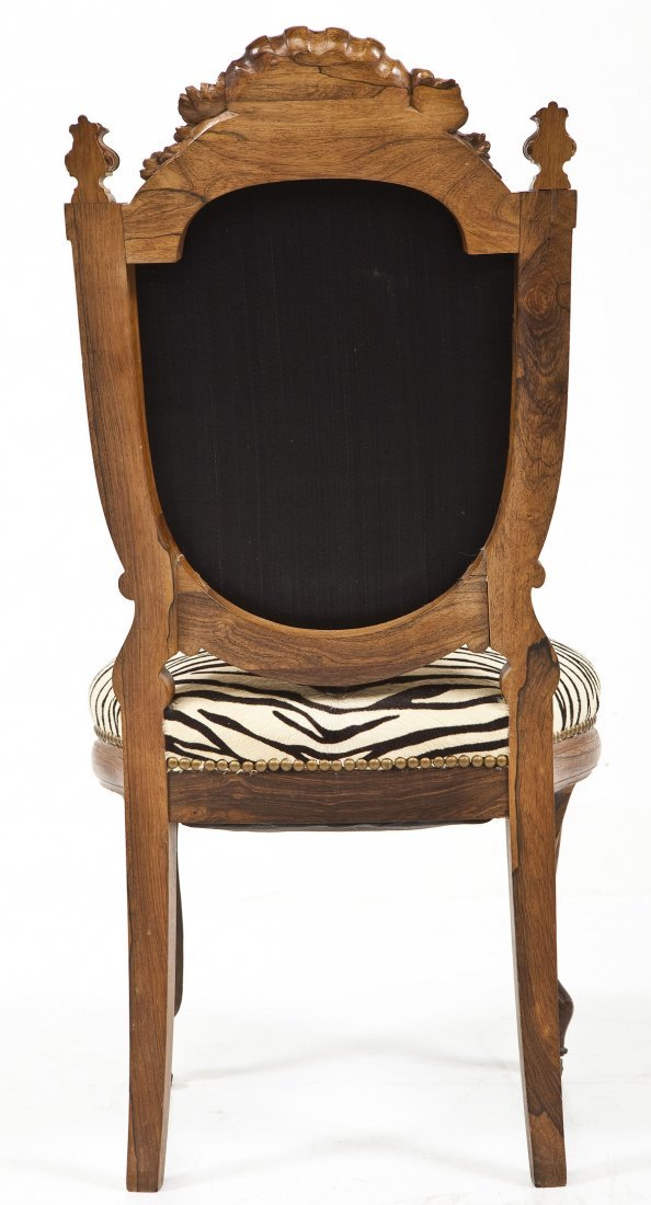 Victorian Revival Boudoir Chair - 4