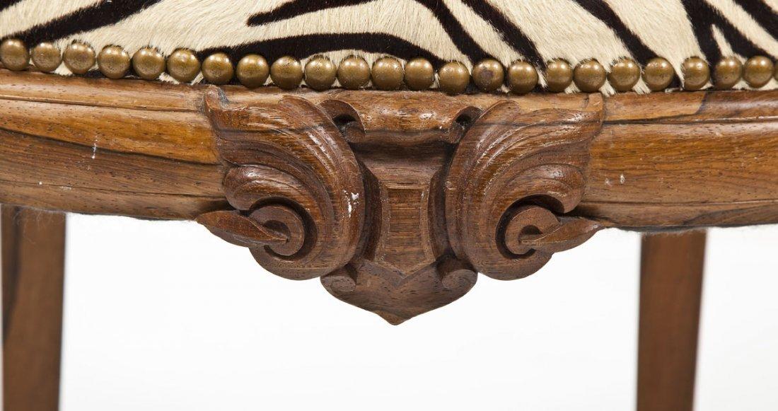 Victorian Revival Boudoir Chair - 8