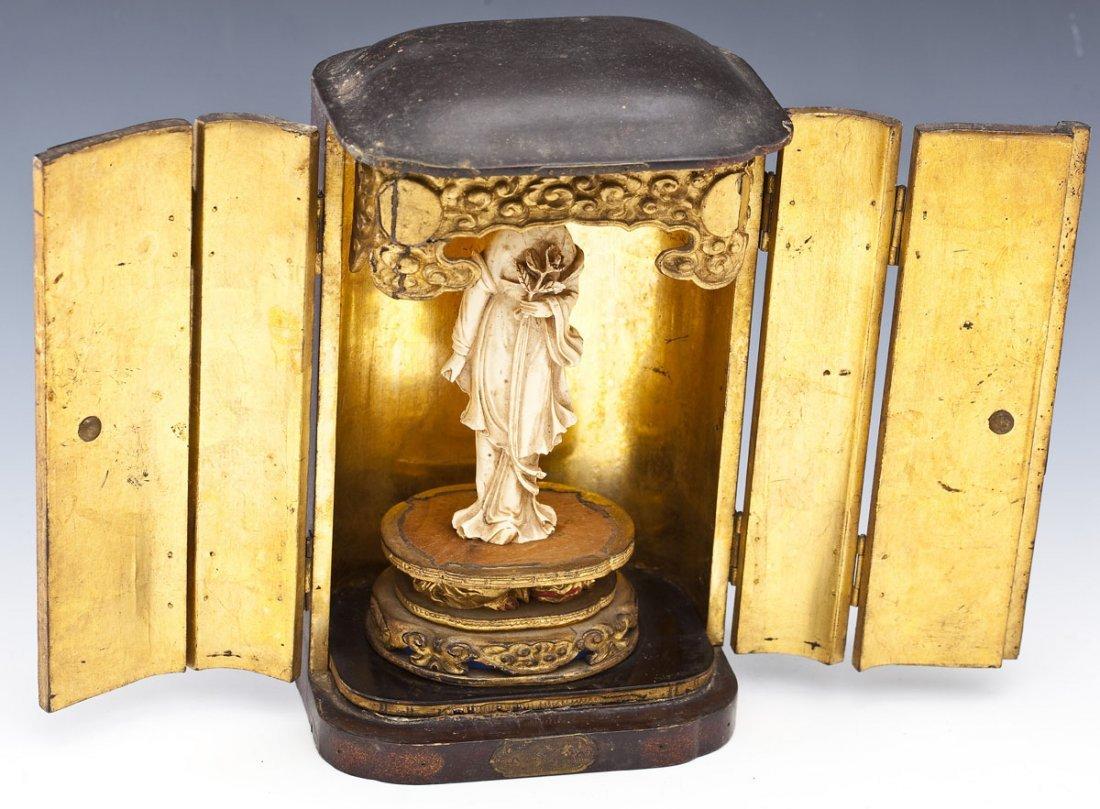 Japanese Portable Buddhist Shrine - 4