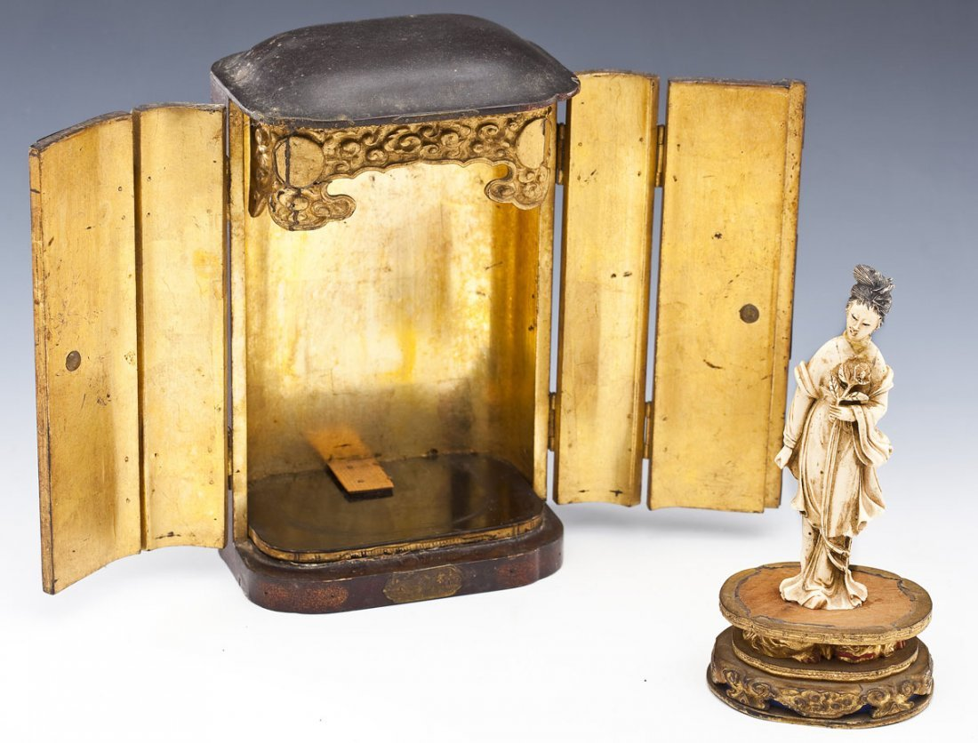 Japanese Portable Buddhist Shrine - 5