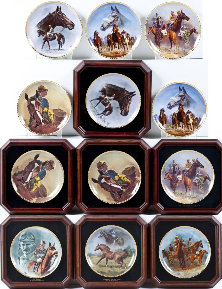 12 Fred Stone American Artists Collector's Plates