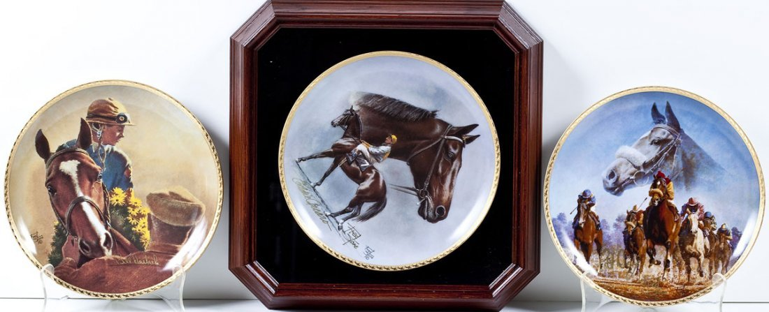 12 Fred Stone American Artists Collector's Plates - 3