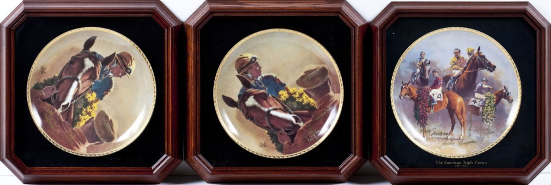 12 Fred Stone American Artists Collector's Plates - 4
