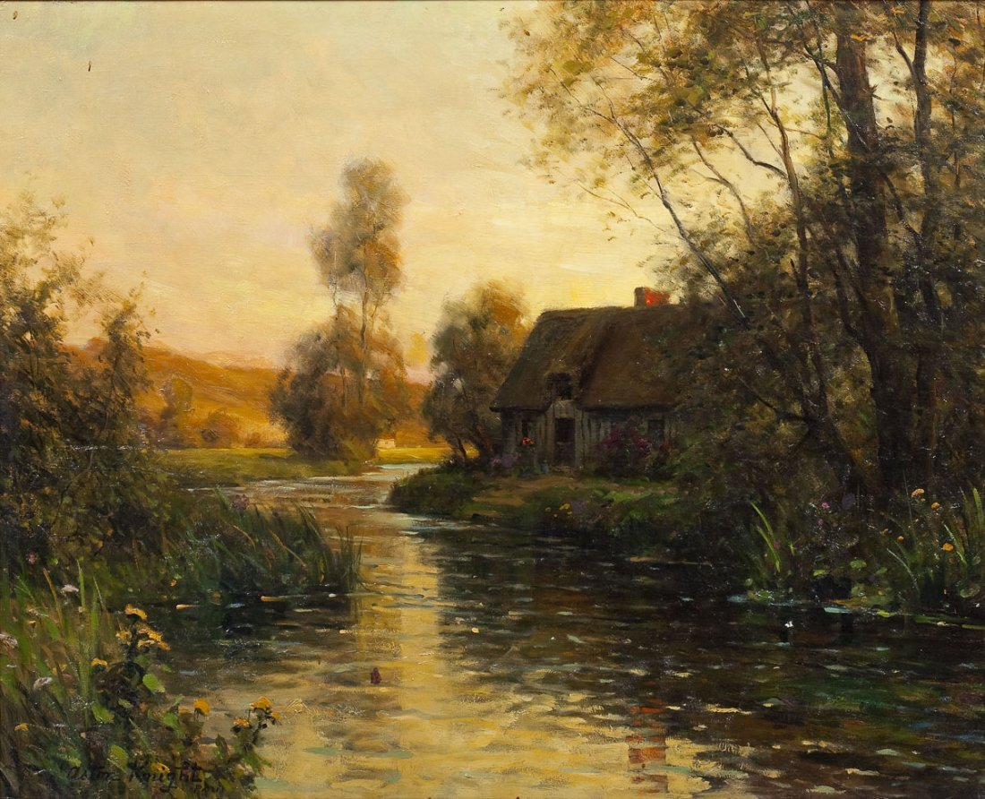 Louis Aston Knight (French/American 1873-1948)