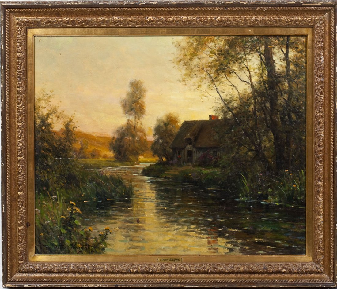 Louis Aston Knight (French/American 1873-1948) - 2