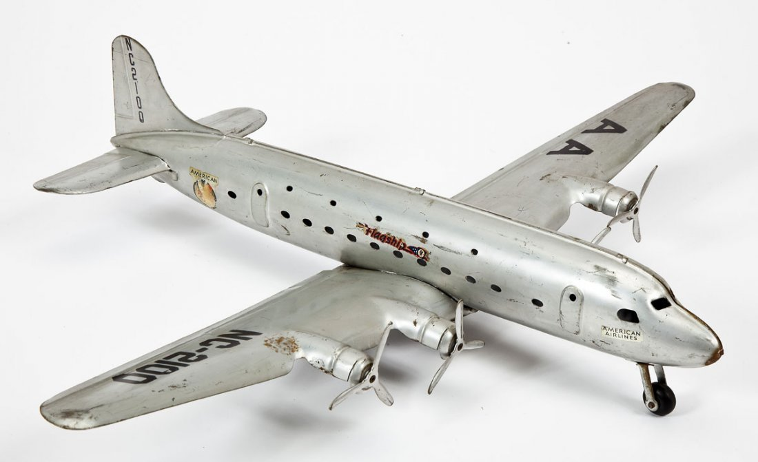 American Airlines Flagship NC-2100 Tin Airplane