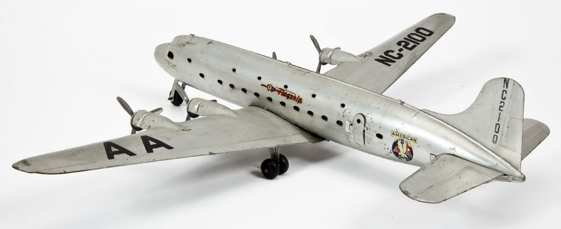 American Airlines Flagship NC-2100 Tin Airplane - 2