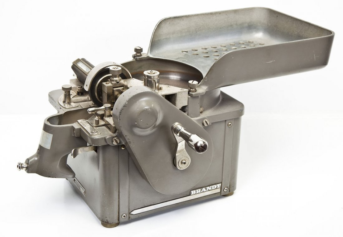 Brandt Coin Counter and Packager - 4