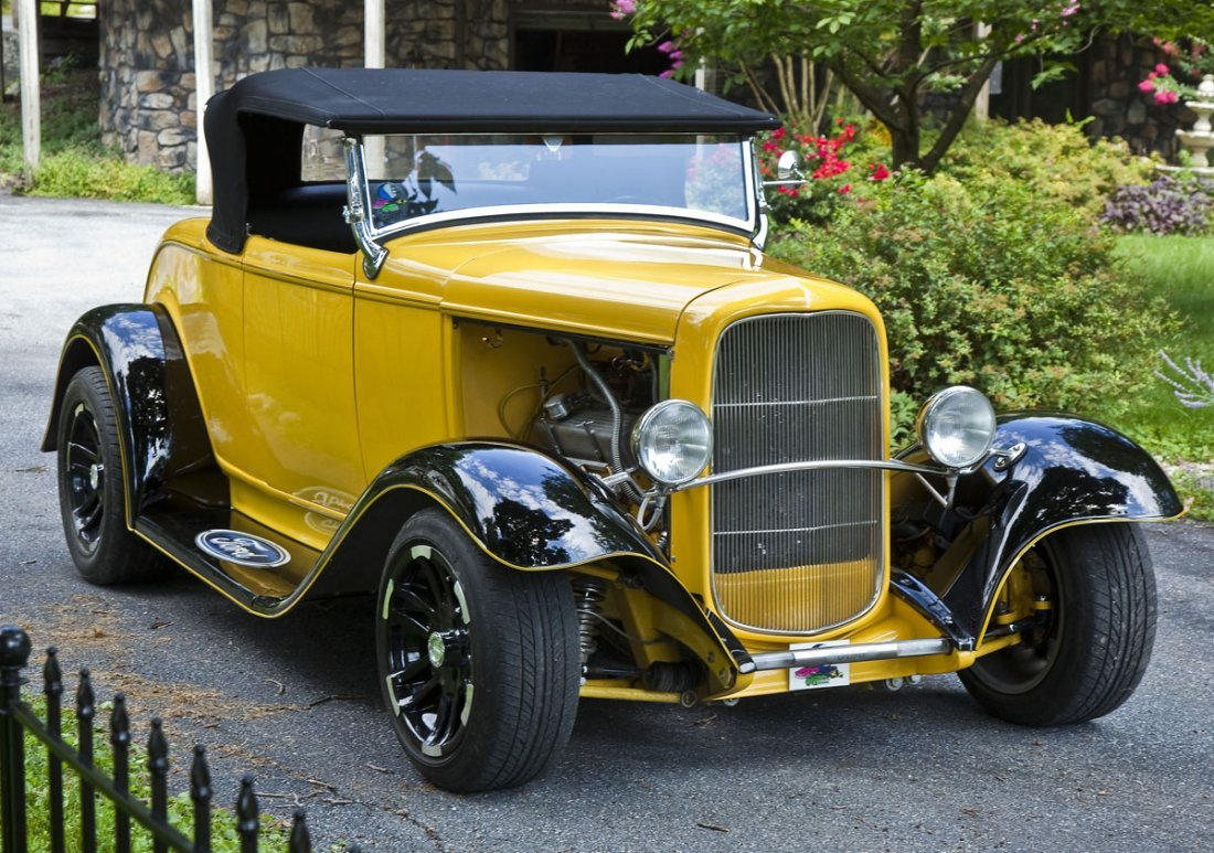 Car Hot Rod 1932 Ford Roadster Convertible