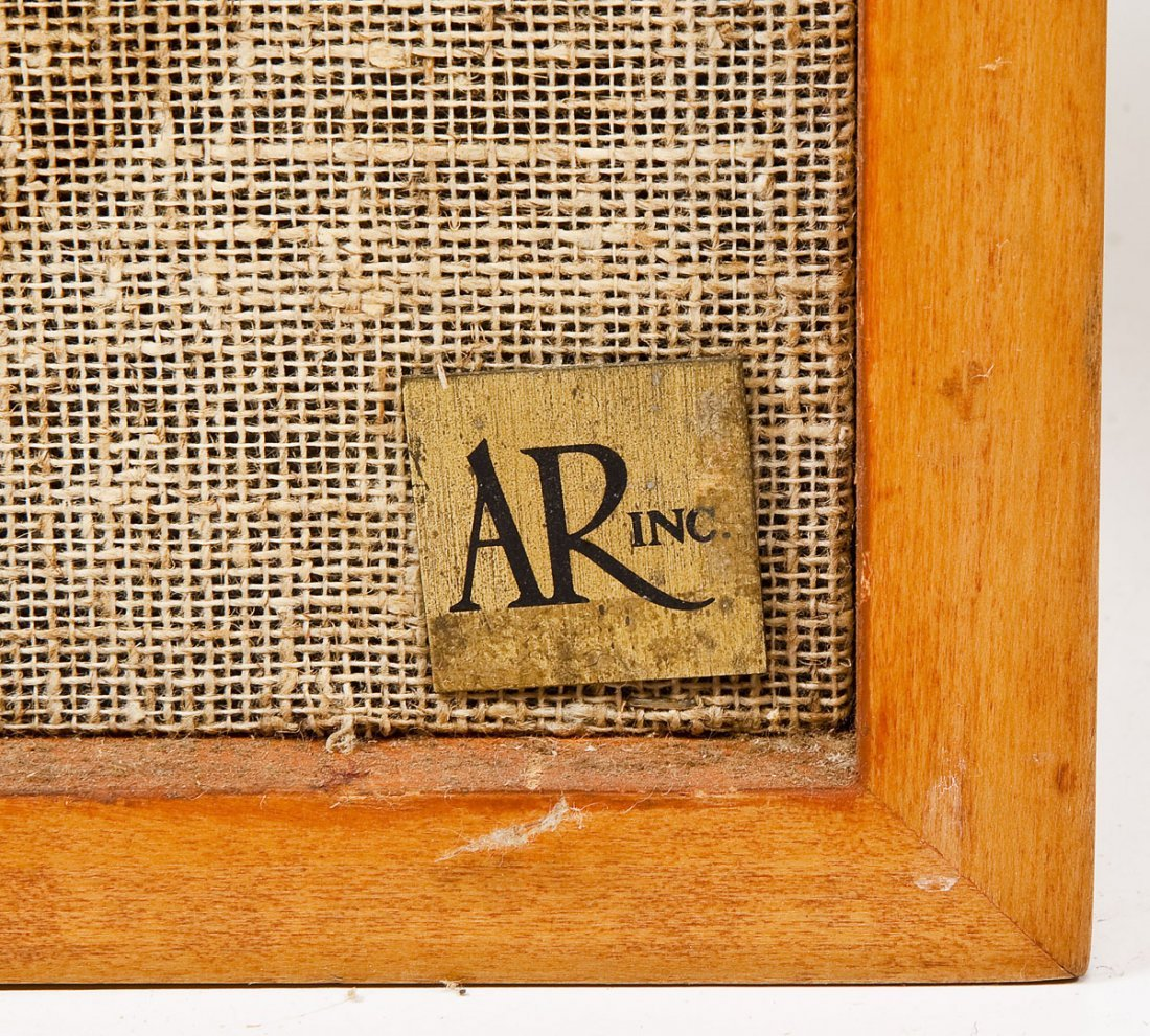 Pair of Mid-Century Acoustic Research 2ax Speakers - 2