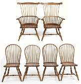 Assembled Set of Windsor Chairs