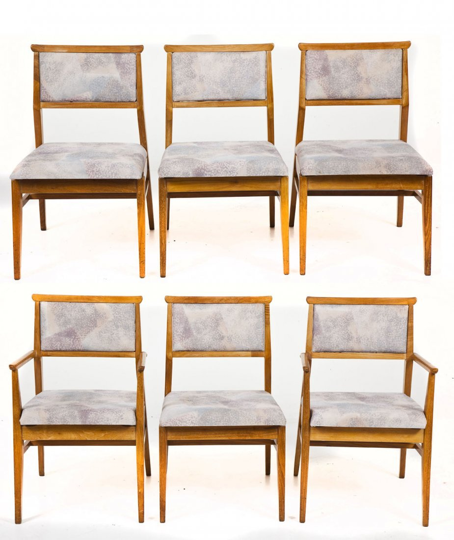 Hickory Tung-Si Mid-Century Dining Set - 4