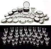 152 Pc Rosenthal Elegence Dish  Glassware Set