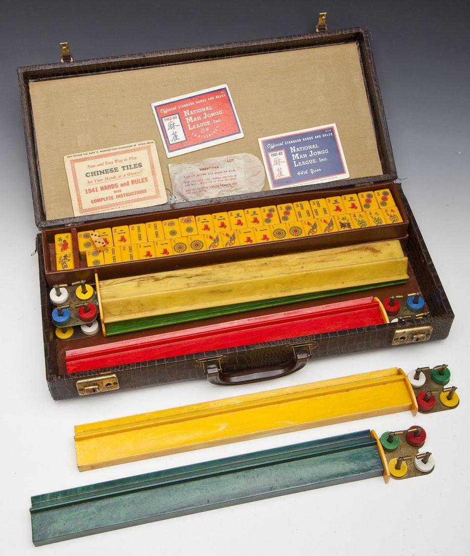 Royal Brand Chinese-American Mahjong Set