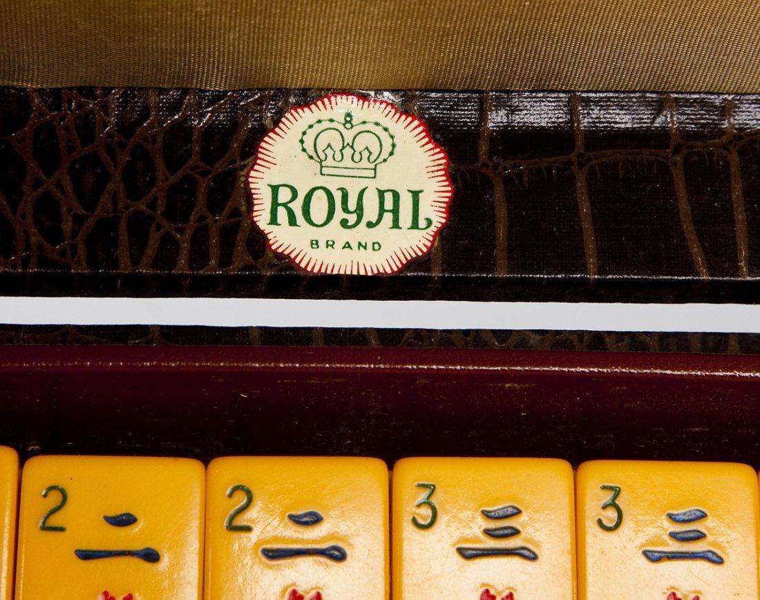Royal Brand Chinese-American Mahjong Set - 4