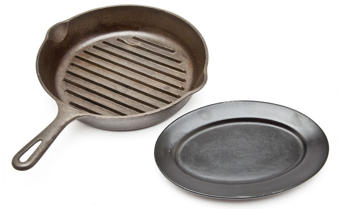 Wagner Skillet Grill & Al Carden Steak Platter
