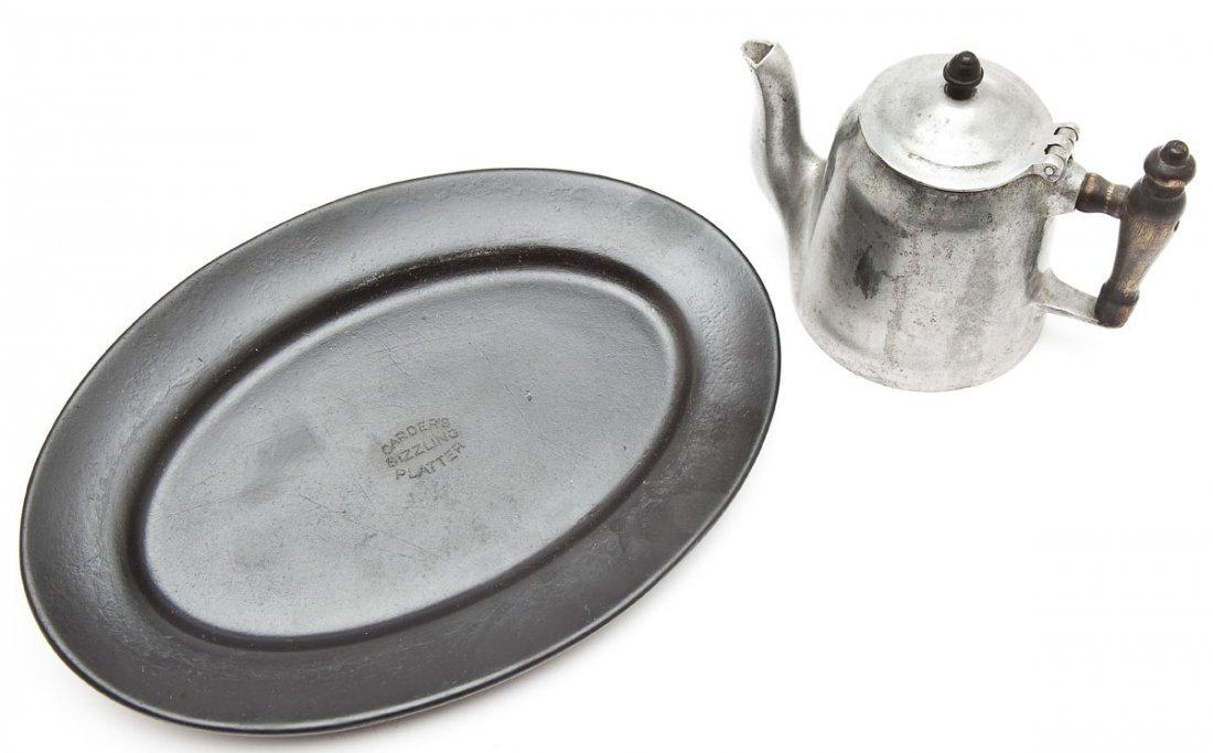 Wagner Teapot & Al Carden Sizzling Steak Platters