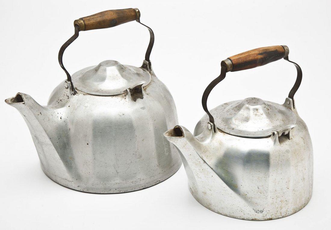 Wagner 8 Qt & 5 Qt Aluminum Tea Kettles