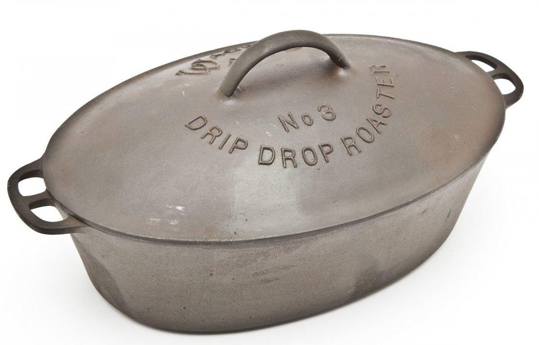 Wagner Oval Roaster #3 Drip Drop Stylized Logo