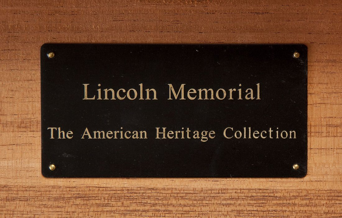 American Heritage Collection Lincoln Humidor - 3